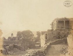 Interior of the Fort, Narwar.